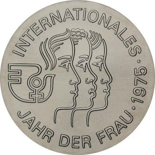 5 Mark DDR Jahr der Frau 1975 Cn St