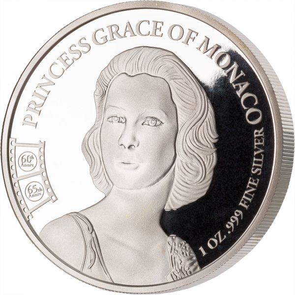 1000 CFA Francs Kamerun Grace Kelly 2020 Silber St