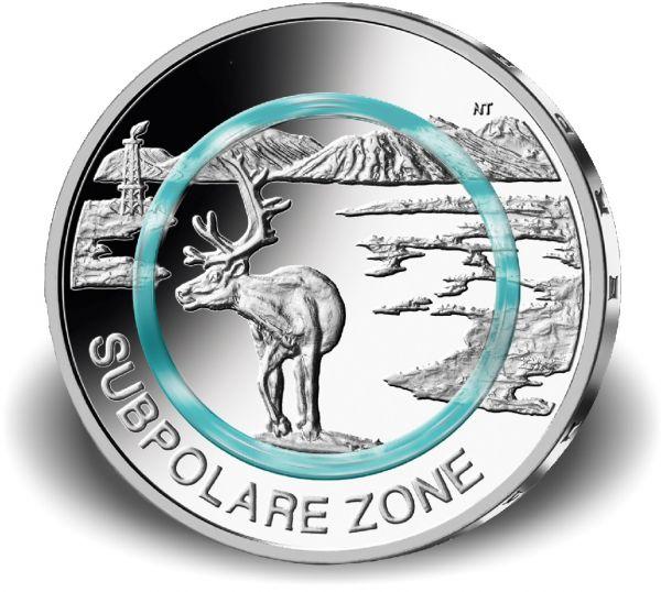 5 Euro DE Subpolare Zone 2020 CN St