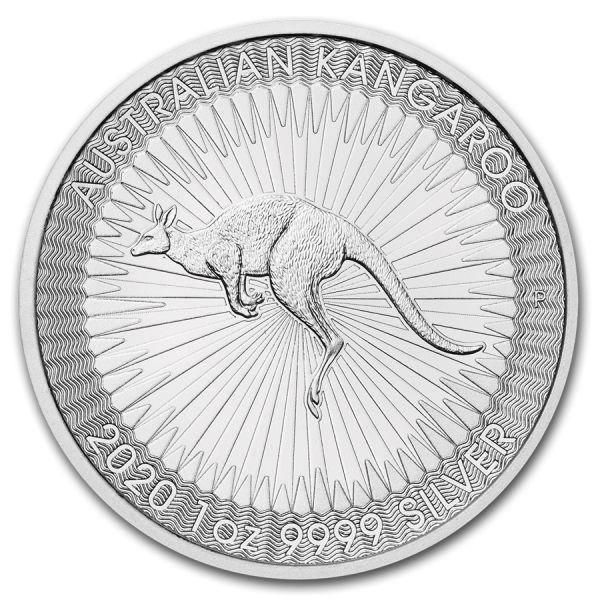 1 Dollar Australien Känguru 2020 1oz Silber St Bullion