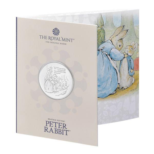 5 Pfund Großbritannien Beatrix Potter - Peter Rabbit 2021 Cuni St