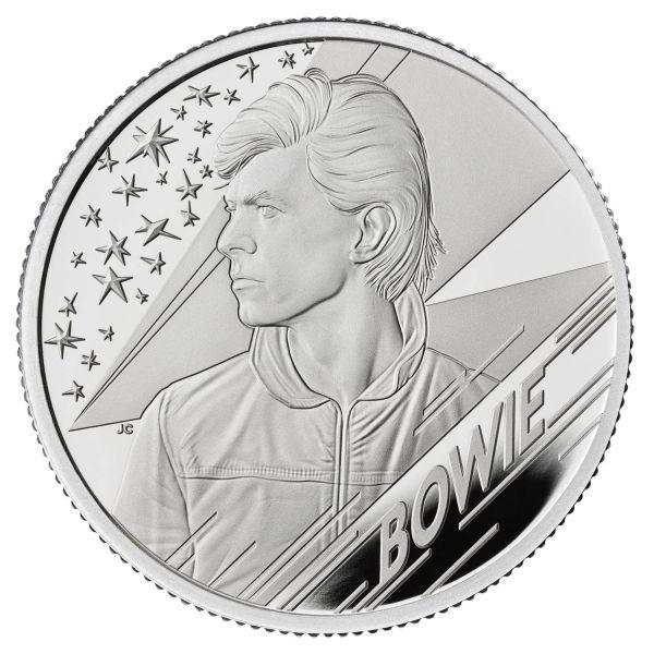 1 Pfund Großbritannien David Bowie Musiklegenden 2020 Silber PP