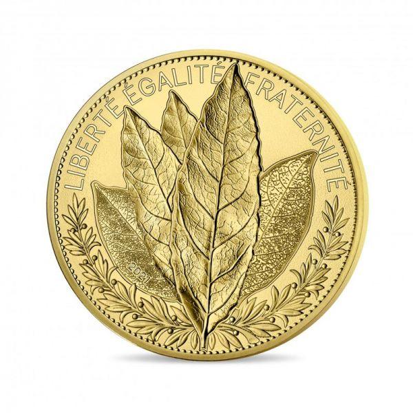 250 Euro Frankreich Der Lorbeer - Natur Frankreichs 2021 Gold St