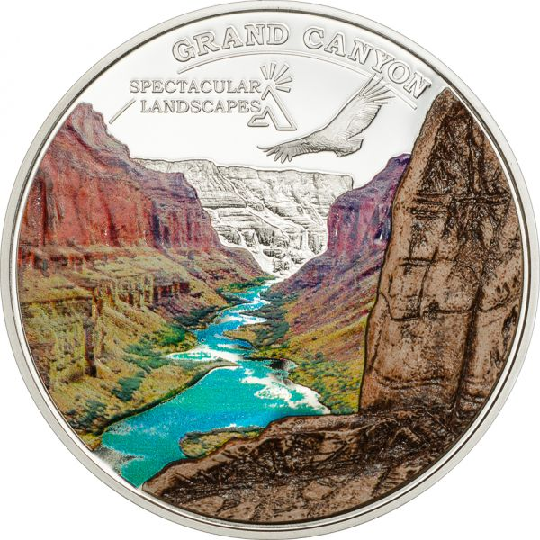 5 $ Cook Island Grand Canyon 2014 Ag PP