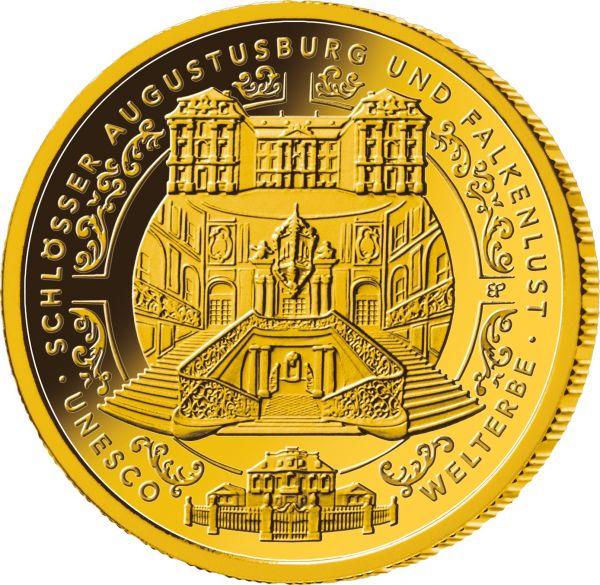 """100 € DE """"UNESCO Augustusburg und Falkenlust Brühl"""" 2018 Au St -F-"""