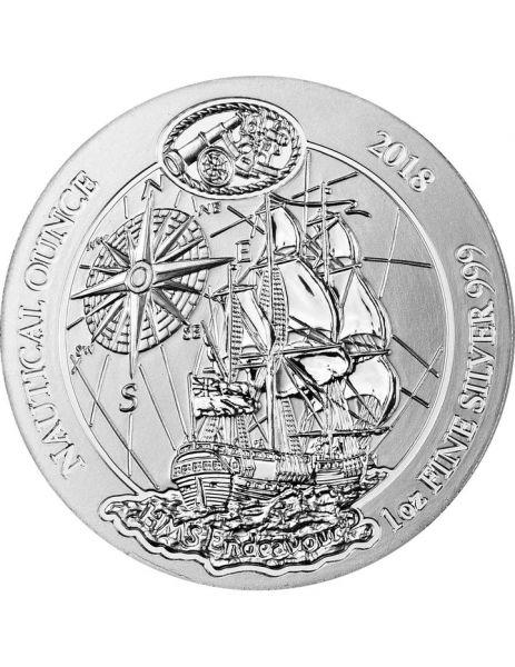 "50 RWF Ruanda ""HMS Endeavour"" 2018 1oz Silber St"