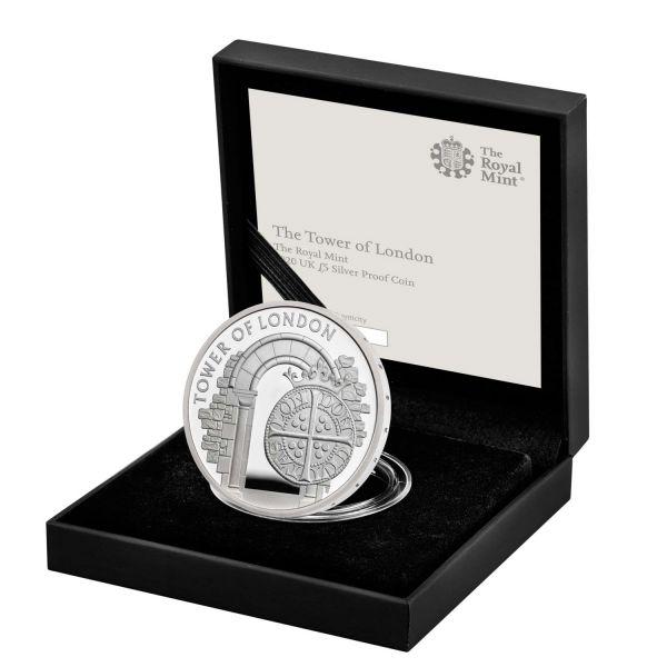 5 Pfund Großbritannien Münzprägung 2020 Silber PP