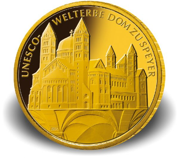 "100 € DE ""UNESCO - Dom zu Speyer"" 2019 Gold St -G-"