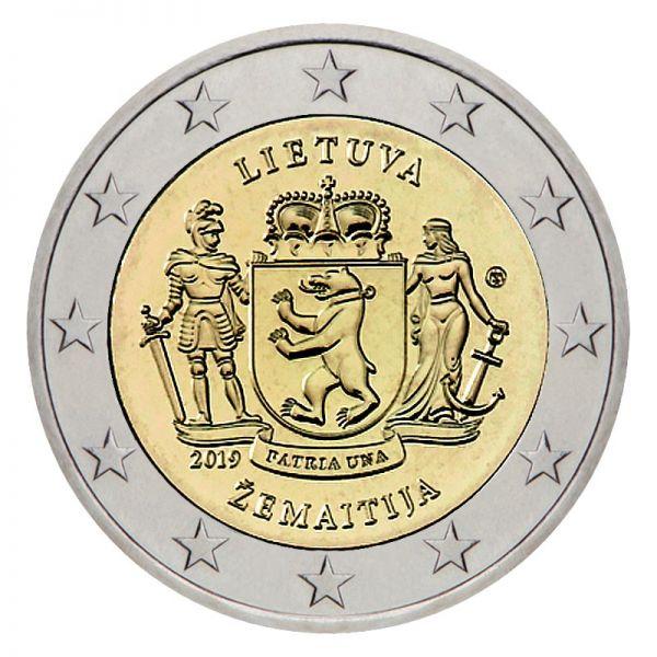 2 Euro Litauen Zemaitija 2019 CN bfr