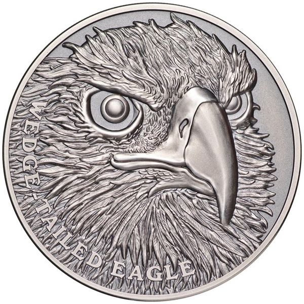 "1 Dollar Niue ""Keilschwanzadler"" 2019 Silber AF"