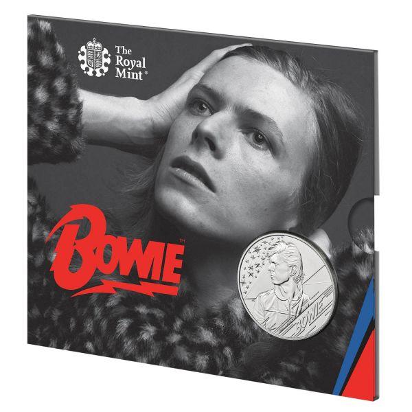 5 Pfund Großbritannien David Bowie Musiklegenden 2020 Cuni St