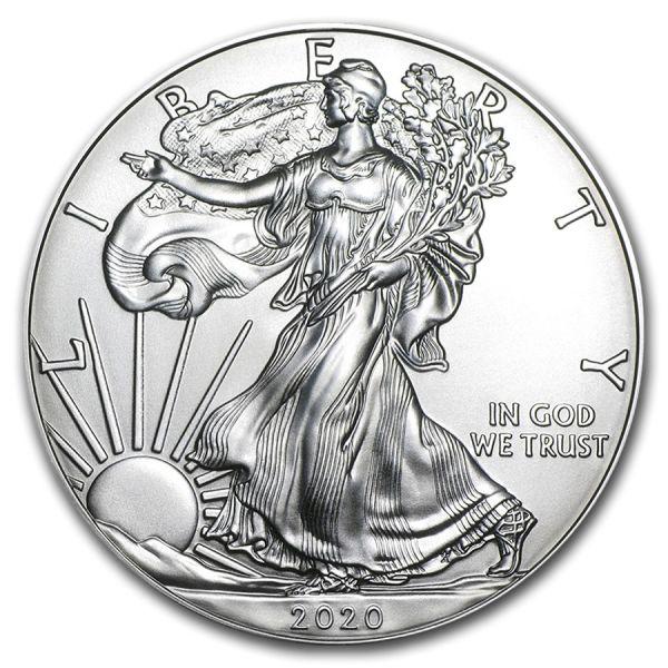 1 Dollar USA Silber Eagle 2020 1oz Silber St