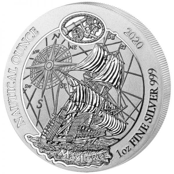50 RWF Ruanda Mayflower 2020 1oz Silber St