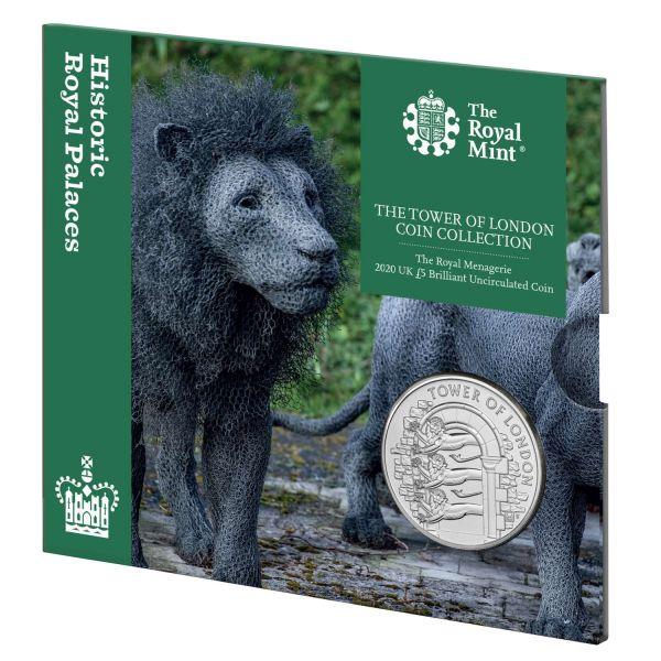 5 Pfund Großbritannien Royal Menagerie 2020 CuNi St