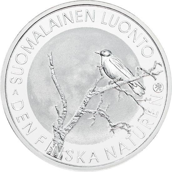 """10 Euro Finnland """"Finnische Natur"""" 2017 Ag PP"""