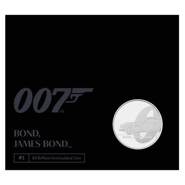 5 Pfund Großbritannien James Bond 2020 Cuni St