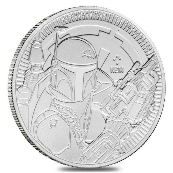 "2 Dollar Niue Star Wars™ - Boba Fett™"" 2020 Silber St"
