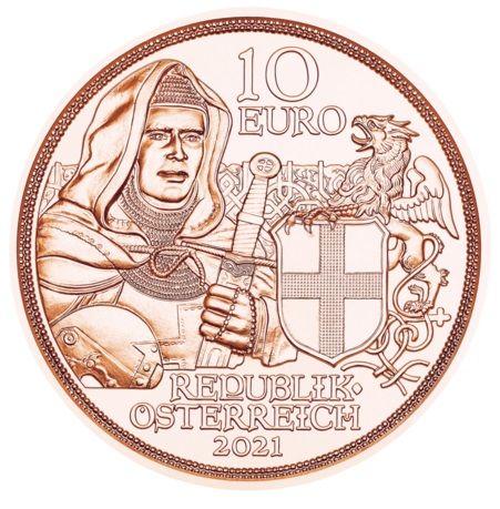 10 Euro Österreich Brüderlichkeit 2021 Kupfer vz