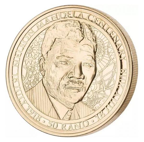 50 Rand Südafrika Nelson Mandela 2018 Br/AL St