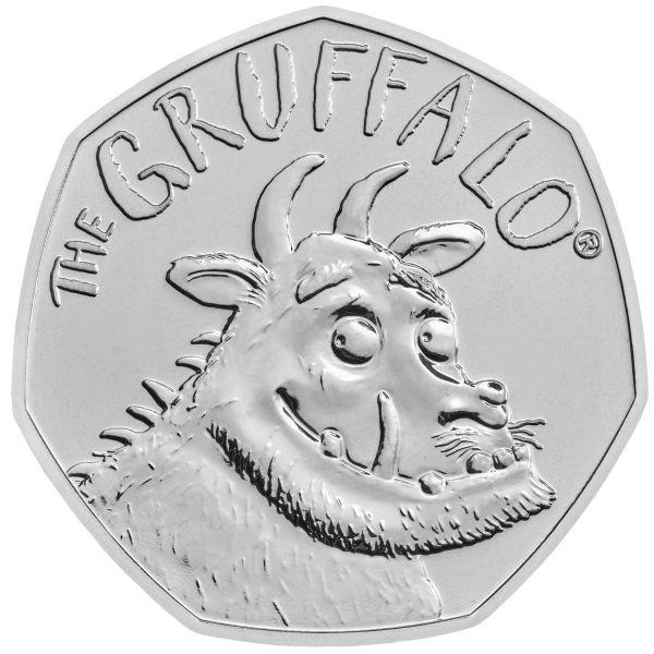"50 Pence Großbritannien ""The Gruffalo"" 2019 CuNi St"