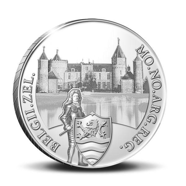 1 Dukat Niederlande Westhove 2021 Silber PP