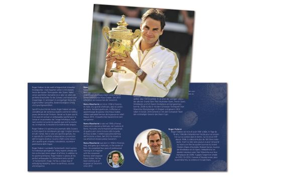 20 CHF Schweiz Roger Federer im Folder 2020 Silber St
