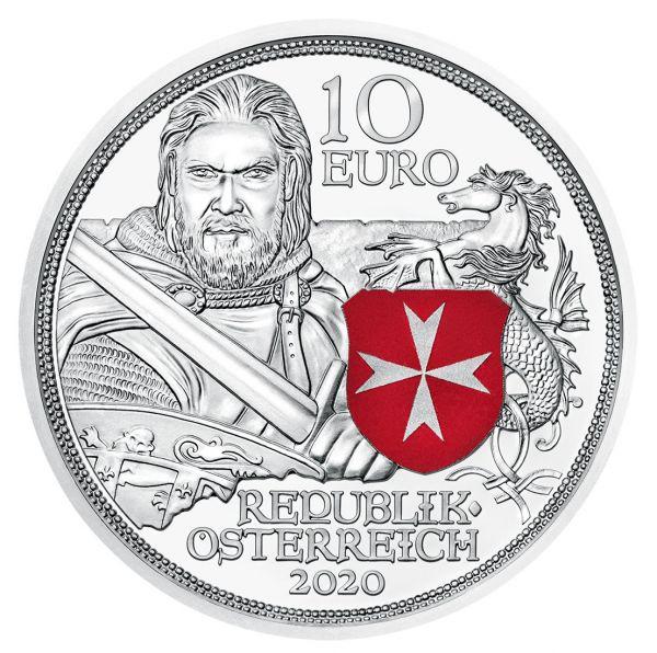 10 Euro Österreich Standhaftigkeit 2020 Silber PP