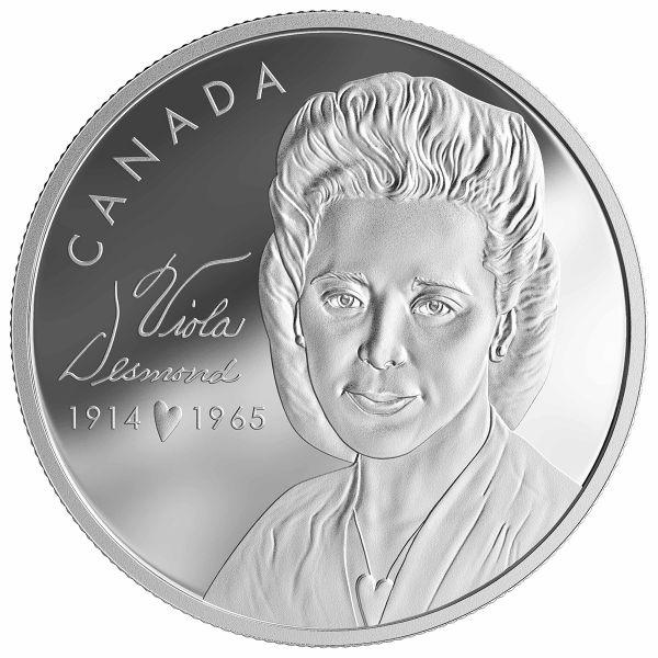 "10+20 $ Kanada ""Viola Desmond"" 2019 Silber PP"