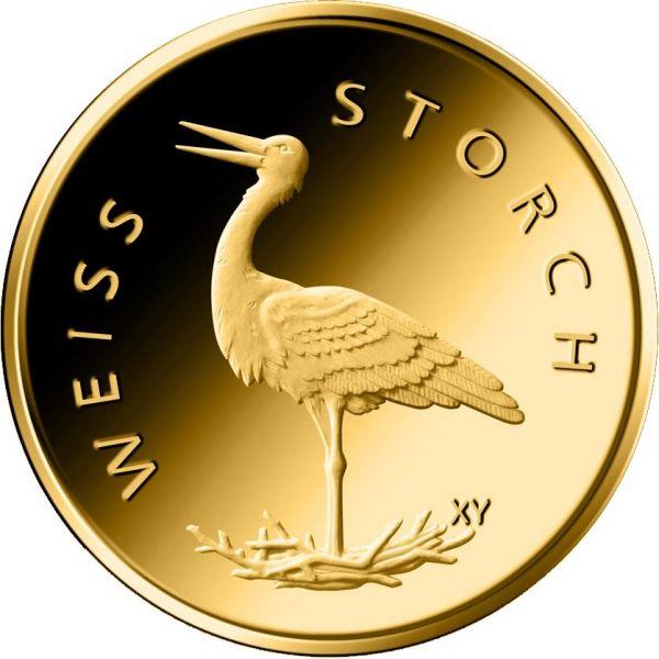 20 Euro DE Weißstorch 2020 Gold St 1/8oz -J-
