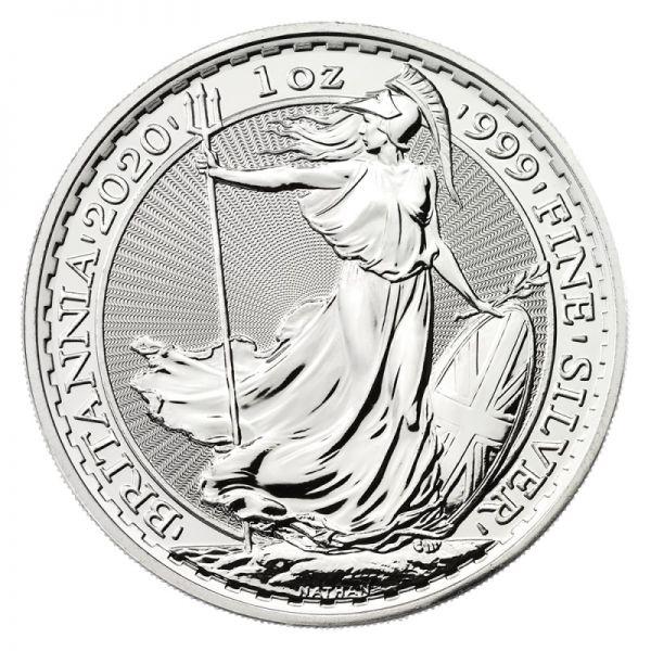 2 Pfund Großbritannien Britannia 2020 Silber St 1oz