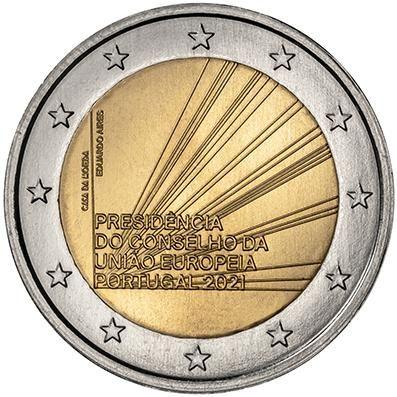 2 Euro Portugal Ratspräsidentschaft 2021 CN bfr