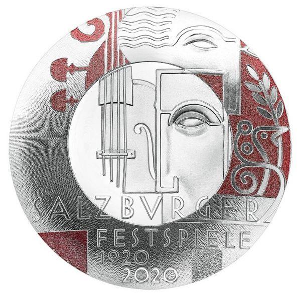 20 Euro Österreich 100 J. Salzburger Festspiele 2020 Silber PP