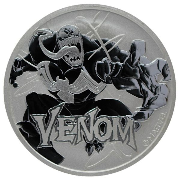 1 Dollar Tuvalu Marvel - Venom 2020 Silber St
