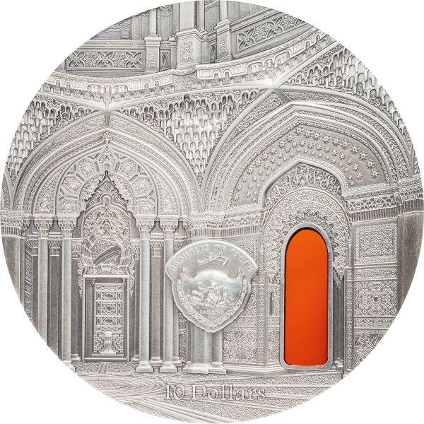 """10 $ Palau Tiffany-Art """"Orientalism"""" 2018 Silber AF 2oz"""