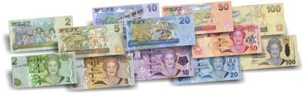 187 Dollar Fidschi Der letzte Queen Banknoten-Satz druckfrisch