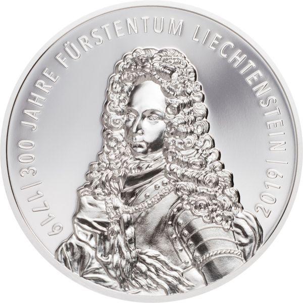 """5 Fr Liechtenstein """"300 Jahre Liechtenstein"""" 2019 Silber PP"""