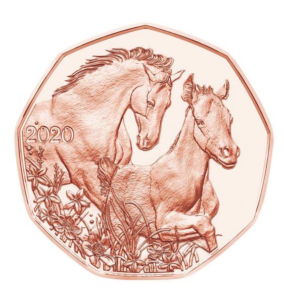 5 Euro Österreich Freunde fürs Leben 2020 Cu vz