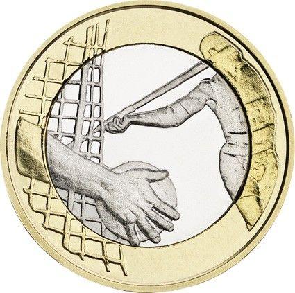 "5 € Finnland Sportserie ""Leichtathletik"" 2016 CN St"