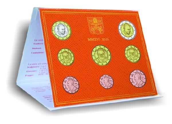 3,88 € Vatikan Jahressatz 2016 CN St