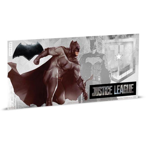 "1 Dollar Niue ""Justice League - Batman"" Banknote 2018 Ag St"