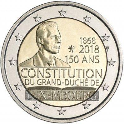 "2 € Luxemburg ""150 J. Luxemburger Verfassung"" 2018 CN bfr"