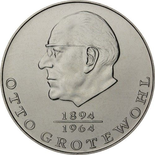 20 Mark DDR Otto Grotewohl 1973 Cn St