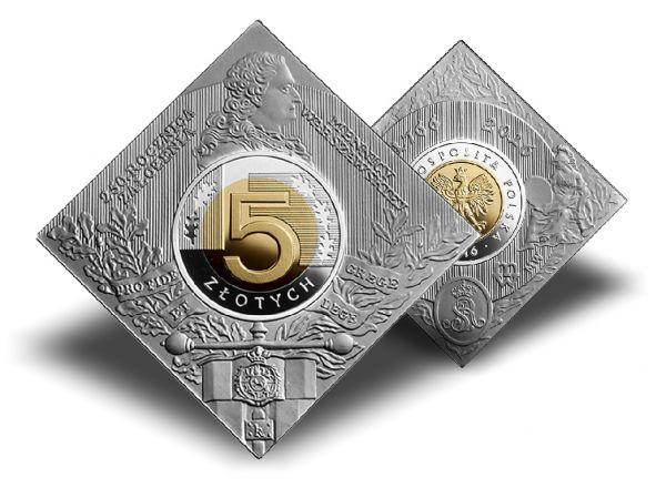 """5 Zloty Polen """"250 Jahre Warschau Mint"""" 2016 Silber PP"""