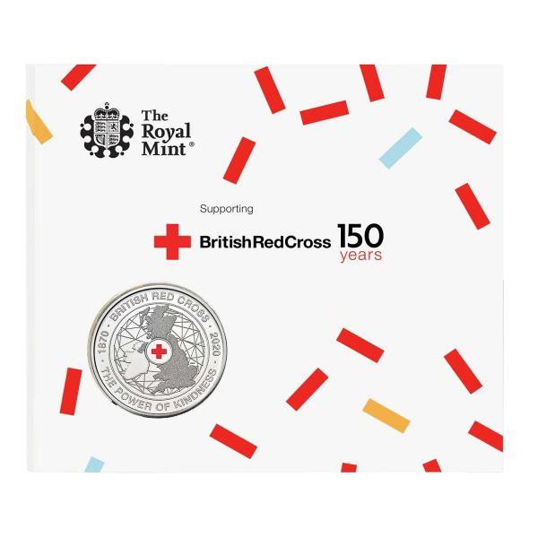 5 Pfund GB 150 J. Britisches Rotes Kreuz 2020 CuNi St