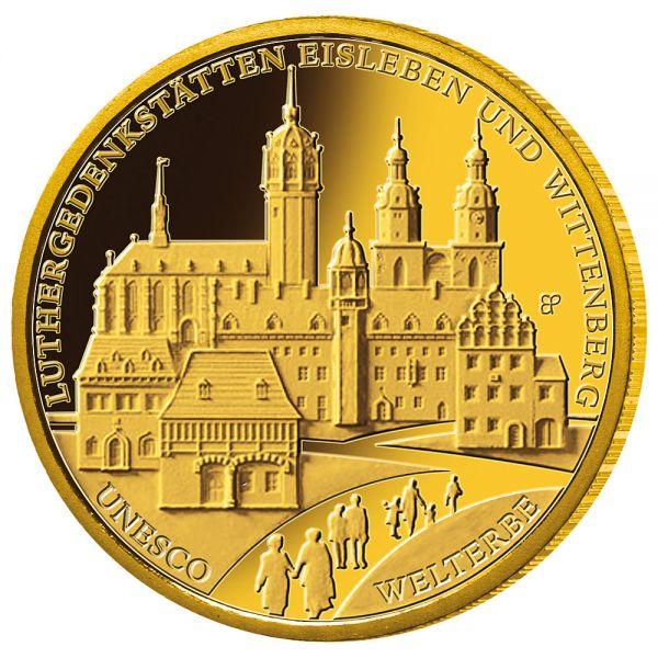 "100 € DE ""Luthergedenkstätten"" 2017 Au St 1/2oz"