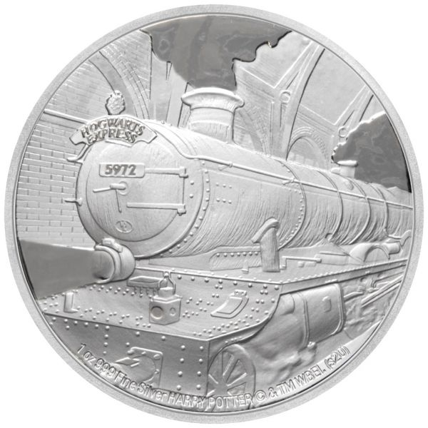 2 Dollar Niue Harry Potter - Hogwarts Express 2020 Silber PP