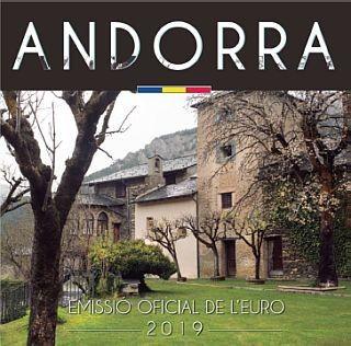3,88 Euro Andorra Kursmünzensatz 2019 CN ST