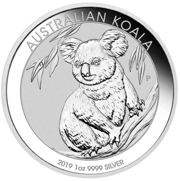 """1 $ Australien """"Koala"""" 2019 1oz Silber St"""