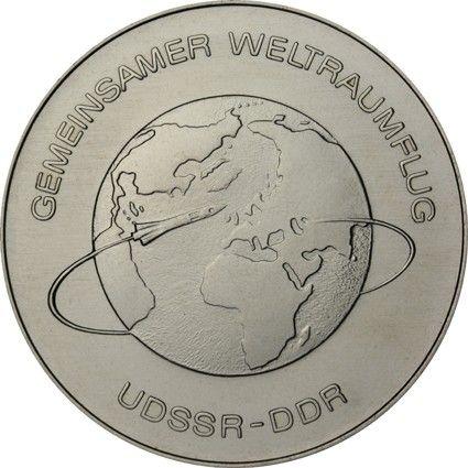 10 Mark DDR Weltraumflug 1978 Cn St