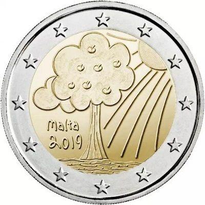 2 Euro Malta Natur und Umwelt 2019 CN bfr
